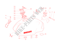 SERBATOIO CARBURANTE per Ducati Monster 900 S i.e. 2001