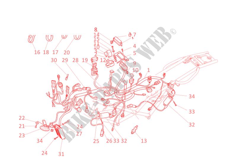 Schema Elettrico Regolatore Di Tensione Ducati : Alternatore regolatore di tensione batteria