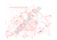 CORPO FARFALLATO per Ducati Supersport 900 2002