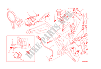 FRENO POSTERIORE per Ducati Monster 1200 2015