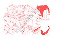 SEMICARENATURA / PARAFANGO ANTERIORE per Ducati Monster 1200 2015