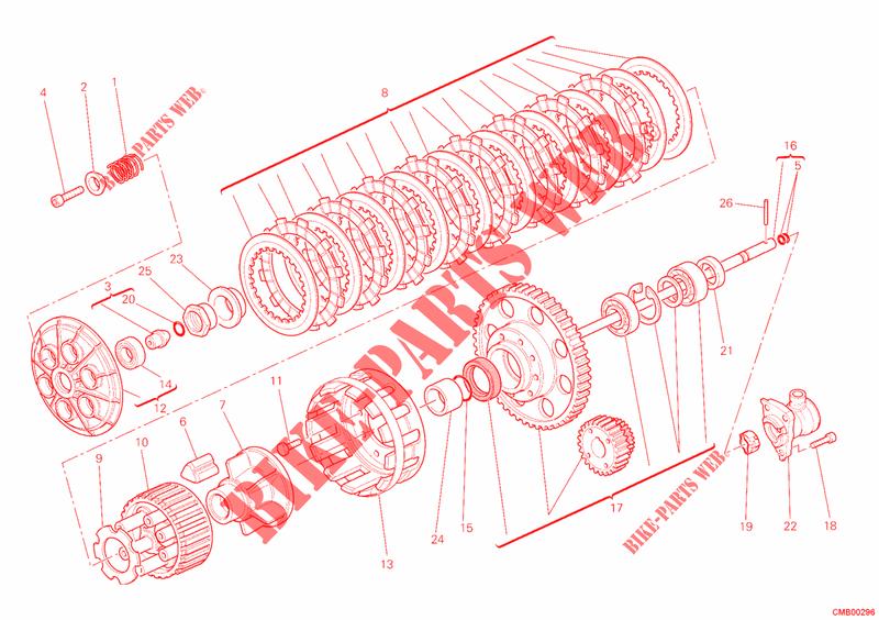 Ducati ORIGINALE 88641731A ANELLO O-RING 1,78X4,76